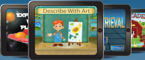 Review and Giveaway for Describe With Art by Virtual Speech Center ‹ AppAbled.com