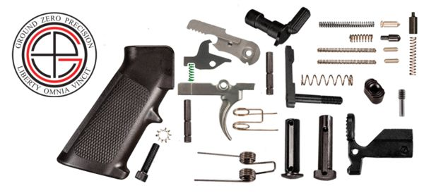 This lower receiver parts kit comes with everything you need to build a complete (DPMS LR308 Pattern) .308 lower receiver. All parts are made in the U.S.A.