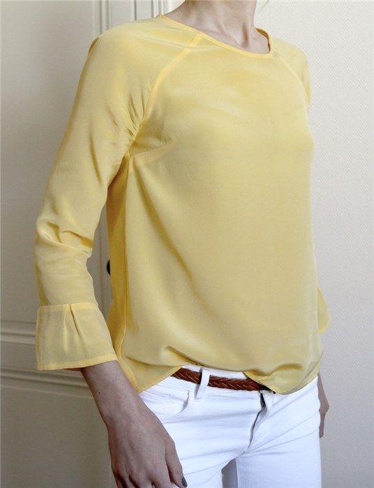 Patron de blouse Stockholm - Atelier Scämmit - Rascol