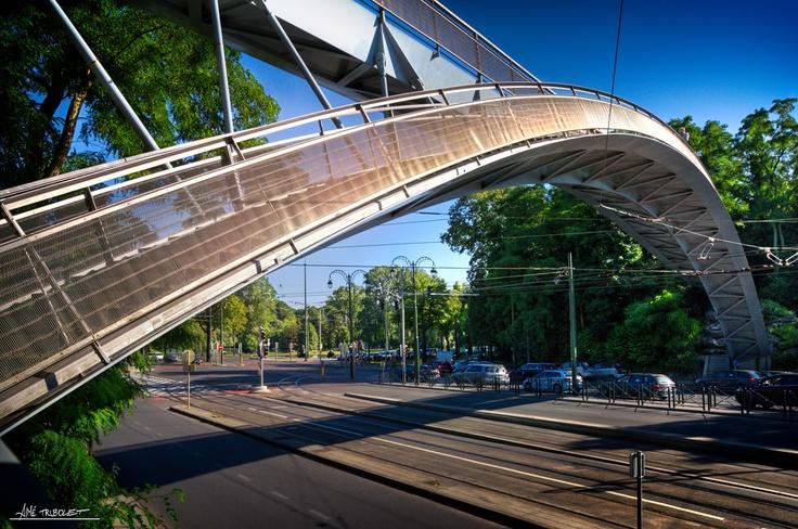 """Musée du tram"" bridge"