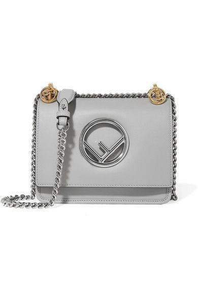 0fc976acfd6d FENDI Kan I mini leather shoulder bag.  fendi  bags  shoulder bags  leather
