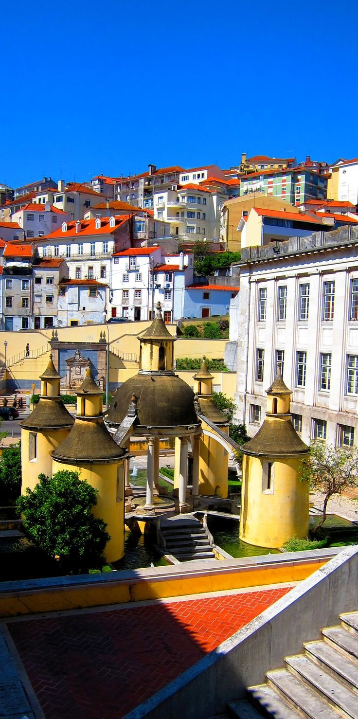 Jardim da Manga, Coimbra, Portugal http://maladviagem.blogspot.pt…