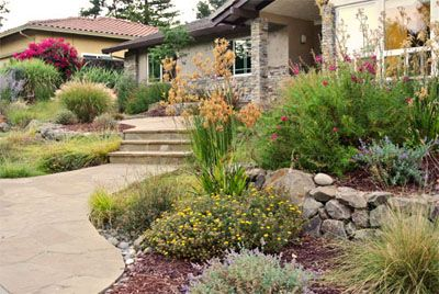 17 Best Images About Front Yard On Pinterest | Front Courtyard Zero Scape And Water Conservation