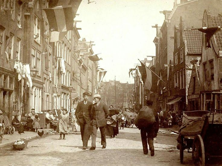 Amsterdam, Willemstraat. ca. 1850