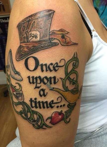 Tattoo Disney Snow White Alice In Wonderland 67+ Ideas –  – #smalltattoos –  – #smalltattoos