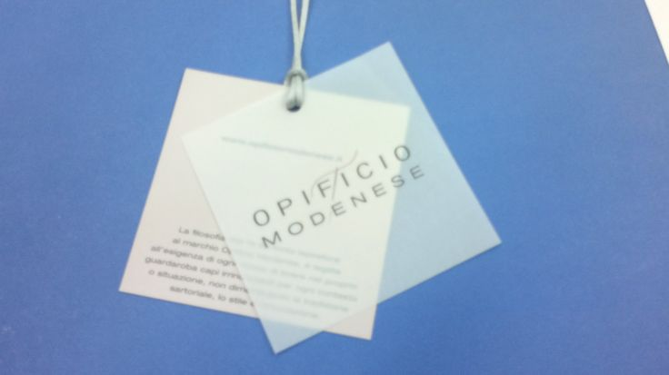 Opificio Modenese label