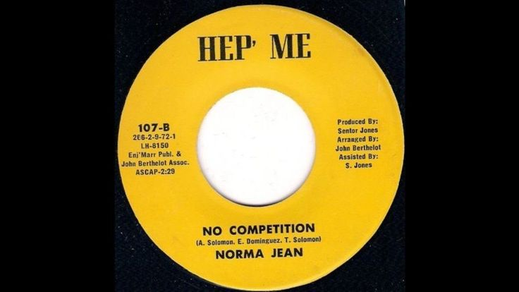 Norma Jean - No Competition