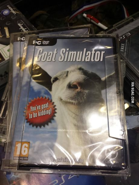 Goat Simulator is available in stores.