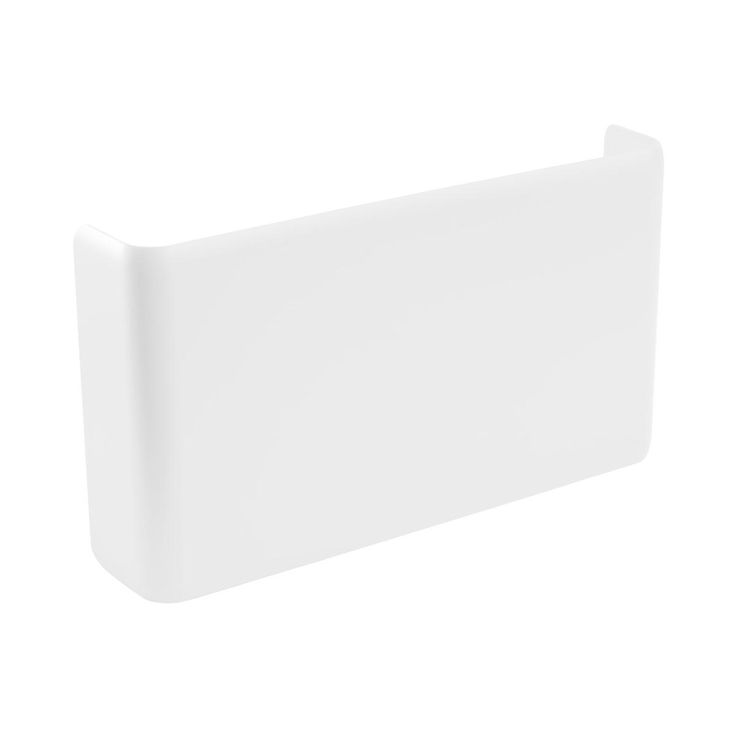 Enjoy free shipping on all purchases over $75 and free in-store pickup on the White Poppin Magnetic Wall File Pocket at The Container Store. Our Poppin Magnetic Wall File Pocket helps turn empty wall space into practical storage. Its sleek design holds letter-size folders, magazines and notebooks so you can clear your work surface of stray papers. You can even choose one of three ways to install your wall pocket. With a removable magnetic back panel, it can cling to any steel surface…