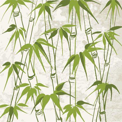 Bamboo Art Green Sumi E Amp Chinese Brush Paintings