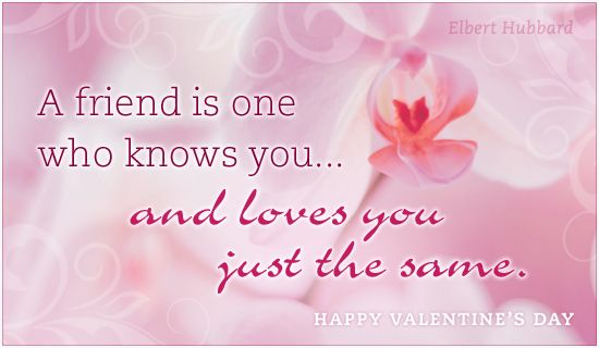 Free Friend Love eCard - eMail Free Personalized Valentine's Day Cards Online