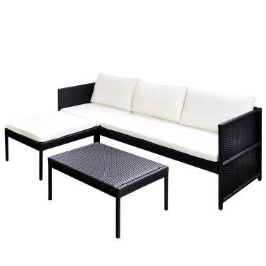 Lounge sofa garten  Die besten 25+ Polyrattan sofa Ideen auf Pinterest | Rattan ...