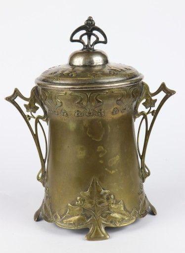 WMF / Secesja / Pojemnik do lodu / 1890 rok