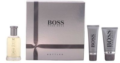 ¡¡Oferta!! Lote de Hugo Boss Boss Bottled por 52,95€ con gastos de envío gratis.Compuesta por fragancia de 100ml, aftershave de 75ml y gel de ducha de 50ml