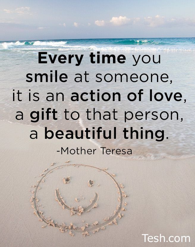 It is an action of love, a gift to that person, a beautiful thing.