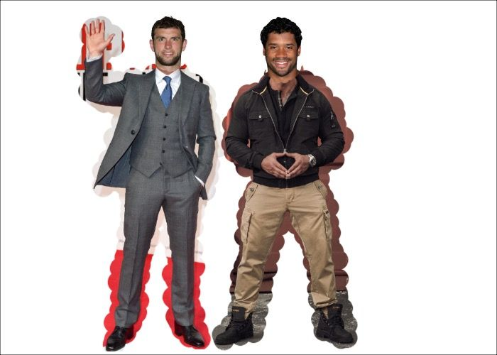 Russell Wilson Andrew Luck