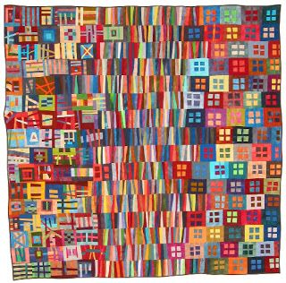 Chaos #5 by Erin Wilson. This quilt is no longer on Erin's website but Mitchell at least credits her and names this work.