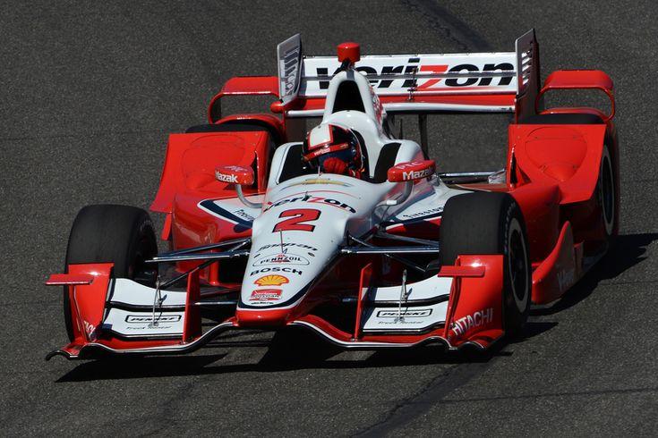 Juan Pablo Montoya, Team Penske Chevrolet New aero package at Barber pre season testing