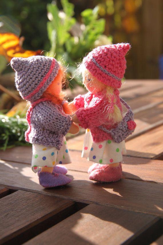 Kleine Mädchen abzuschleppen kurvenreiche Puppenhaus von ElineDolls