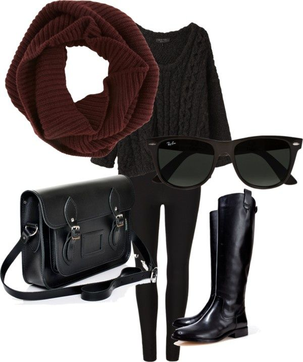18 Must See Winter Polyvore Combinations: