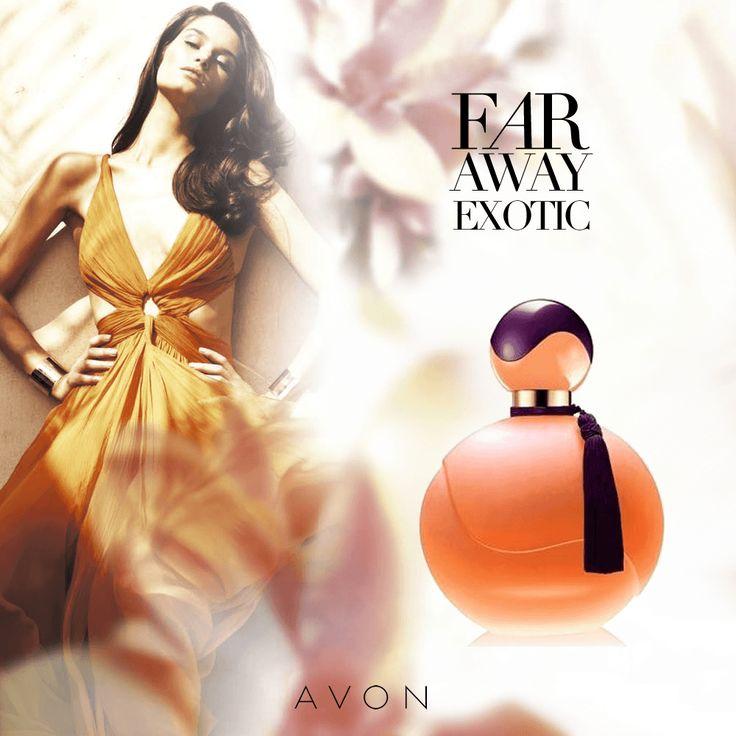 Una mezcla de delicadeza y seducción con la #fragancia #FarAwayExotic de #Avon