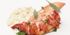 Galton Blackiston - Sous vide lobster with sauce Choron