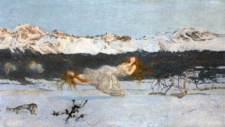 Your Paintings - Giovanni Segantini paintings
