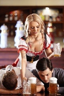 Gentleman can't handle the beer #beer #babes #blonde #busty #breasted #curves #model #hot #sexy #beautiful #woman #girl #chicks #gorgeous #body #photography