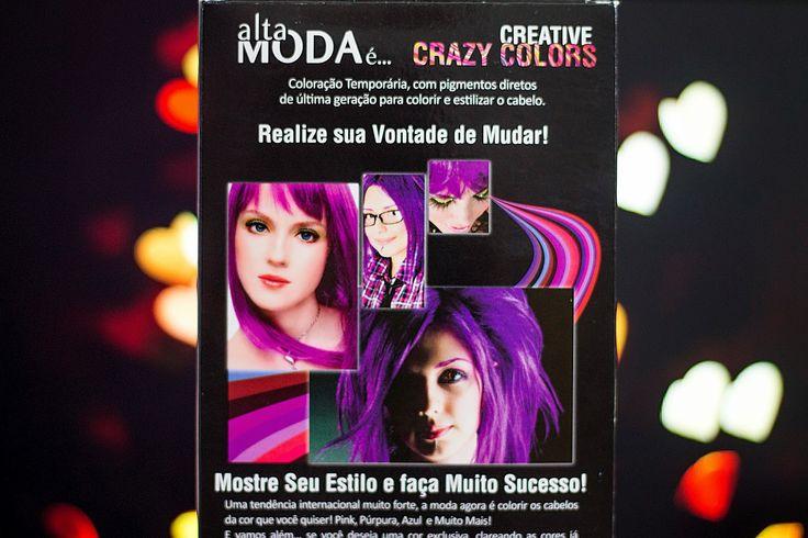 Relíquias da Lara | Looks, Beleza e Lifestyle. : Testei: Creative Crazy Color - Alfaparf - Dark Violet. Cabelo colorido, cabelo roxo, colored hair, purple hair, resenha, tinta de cabelo, cabelo fantasia.