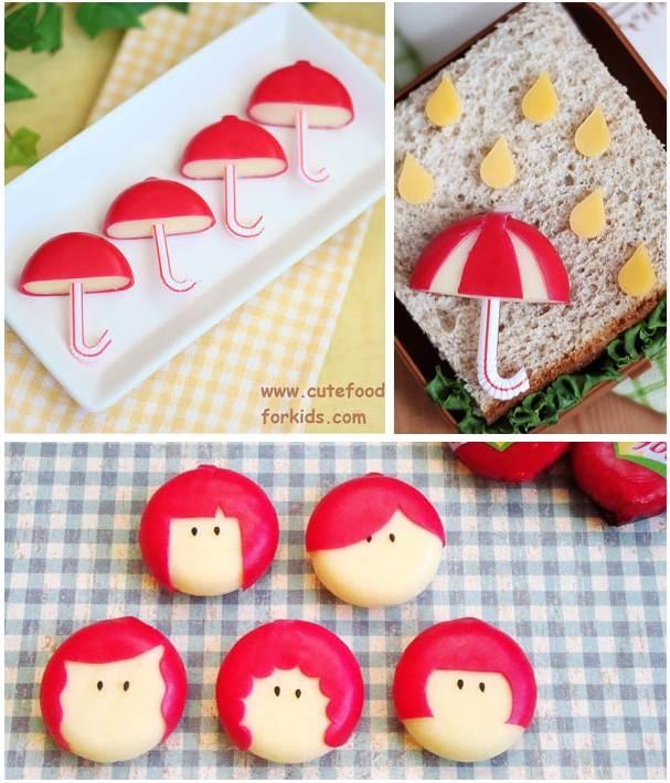 Mini babybels. A cute lunch!