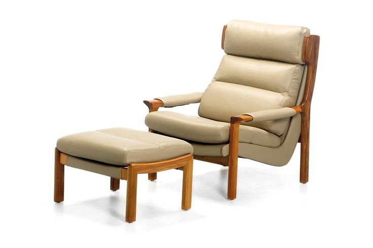 This classical Australian made Chair, which won Australian Design Awards in the 1970′s, is crafted from Solid Tasmanian Blackwood. The upholstery can be made in any covering material of your choice, fabric or leather. The unique bucket style upholstery frame provides great ergonomic support for your long term comfort. This model is still made to the same design specifications that Fred Lowen developed in the late 1960′s. - See more at…