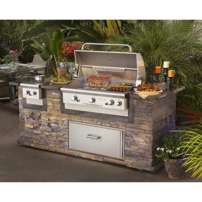 American Outdoor Grill 36 Inch Built In Gas Grill Gas Grills At Hayneedle