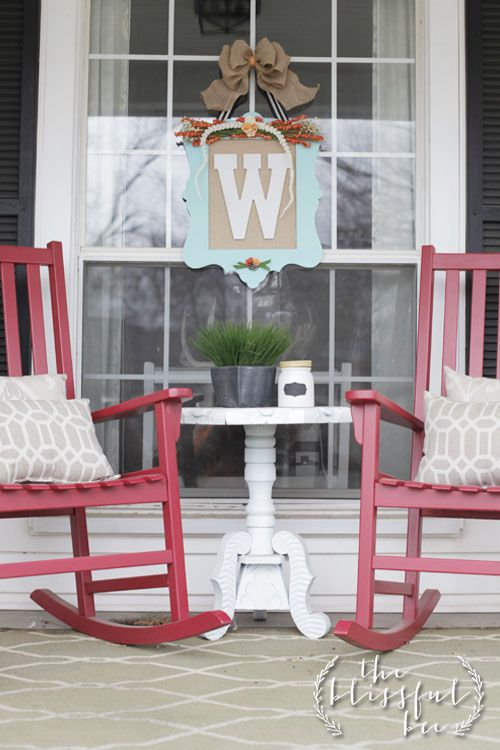 Love the table and chairs. Love the monogram, would look good on my dining room window.
