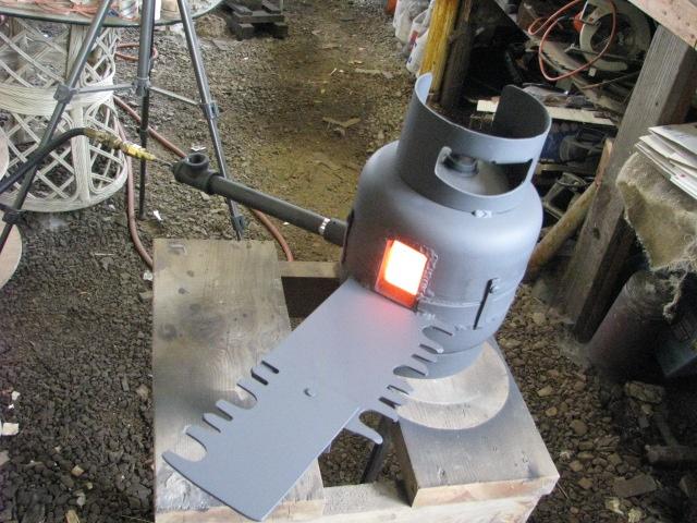 diy propane forge | Propane Forge Plans