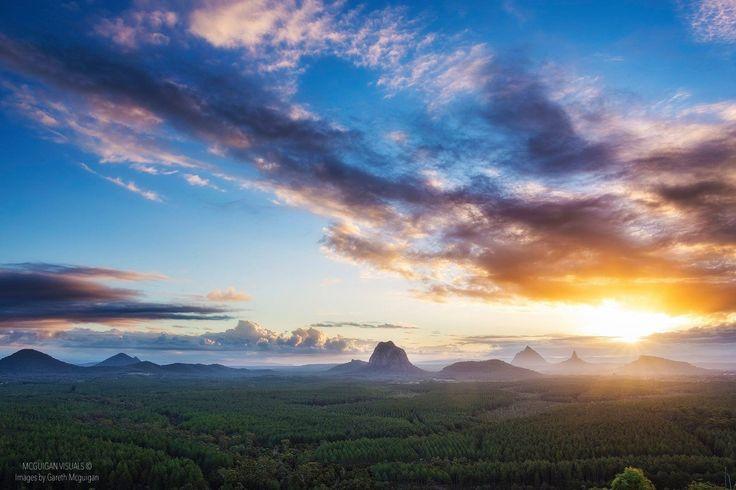 Glass House Mountains, Sunshine Coast, QLD