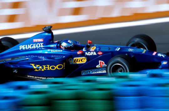 Jean Alesi, Prost-Peugeot AP03 - 2000 French Grand Prix, Magny-Cours