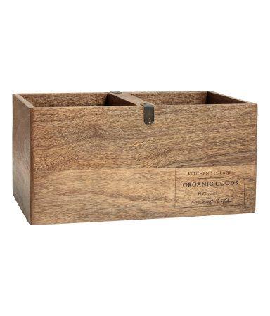 Aufbewahrungskiste aus Holz | Natur | H&M HOME | H&M DE