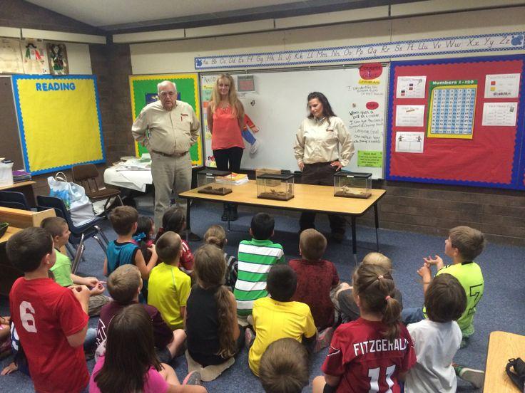 AZ Pest Visits DeGrazia Elementary