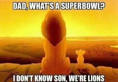 Detroit Lions fans know all about disappointment.