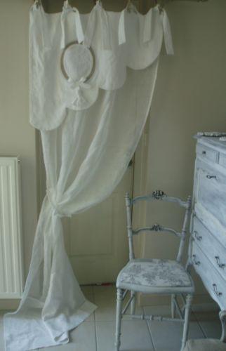 1000 id es sur le th me rideaux du lit baldaquin sur pinterest rideaux de - Vieux linge de maison ...
