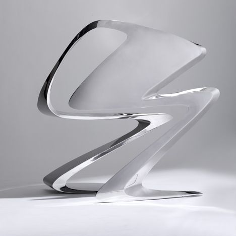 Z-Chair by Zaha Hadid for Sawaya & Moroni: Modern Furniture, Z Chairs, Zaha Hadid Furniture, Products Design, Hadid Designerblog It, Furniture Design, Zahahadid, Architecture Design, Architects Zaha
