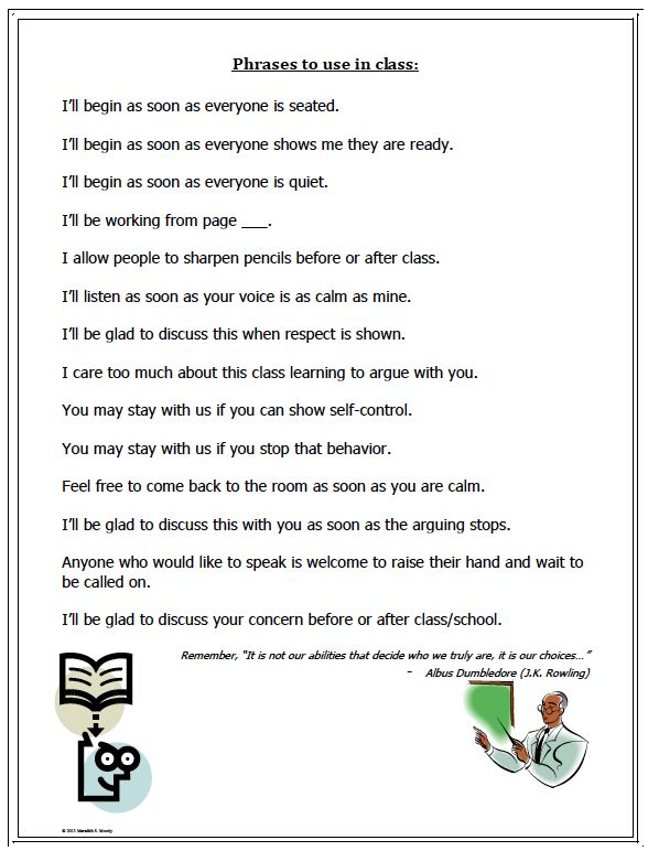 """FREE LESSON - """"Positive Phrases for Teachers"""" - Go to The Best of Teacher Entrepreneurs for this and hundreds of free lessons.  5th - 10th Grade  #FreeLesson   #TeachersPayTeachers   #TPT  http://www.thebestofteacherentrepreneurs.net/2014/05/free-misc-lesson-positive-phrases-for.html"""