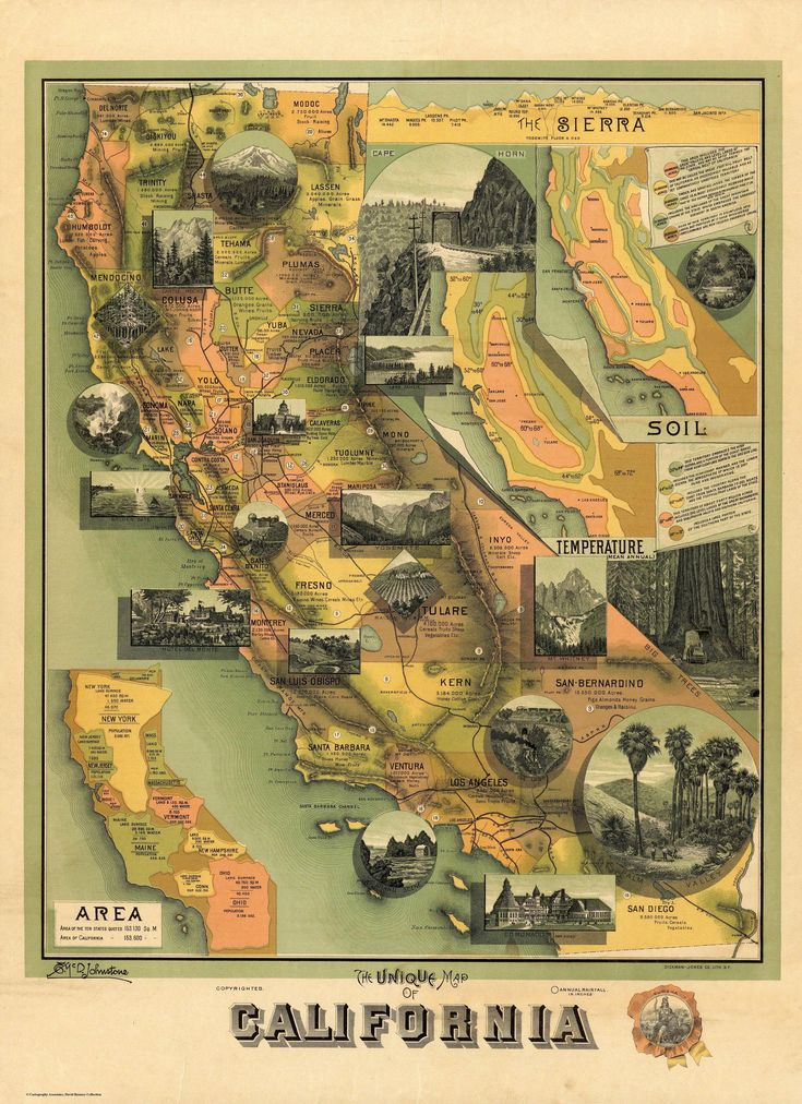 Russia Map After Ww2%0A The Unique Map Of California
