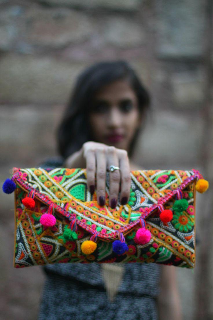 Handicraft __ Clutch Gujarat: Kutch Work!