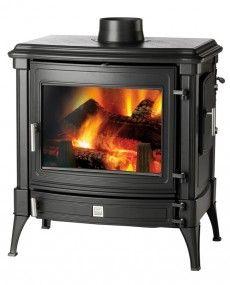 Nestor Martin Stanford 140 -- Woodburning Stove - Wood Burning Stove - Freestanding Stove - Multifuel Stove - Cast Iron Stove - Traditional Stove