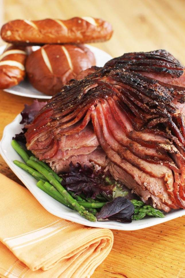 At Easter, there is just nothing better than a spiral-cut ham! Because I grew up with my grandmother roasting fresh, white, uncured hams, a sweet-glazed spiral-cut ham has always been a delicacy to me.  My ...