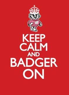 Keep Calm and Badger On! 2015 NCAA Finals