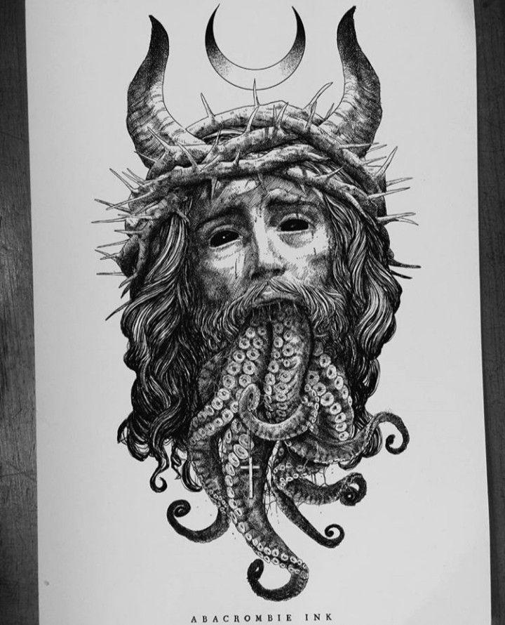 Arte Satanico Arte De Miedo Tatuajes Satanicos