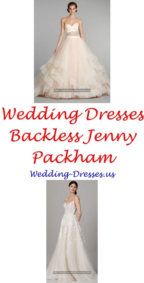 Wedding Dresses Simple Satin