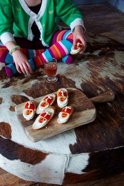 Hartige Sinterklaasbroodjes is een lekker recept, Lekkere en gezonde hartige snack, leuk voor kinderen en volwassenen.